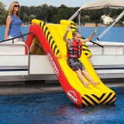 Spillway Inflatable Pontoon Boat Slide